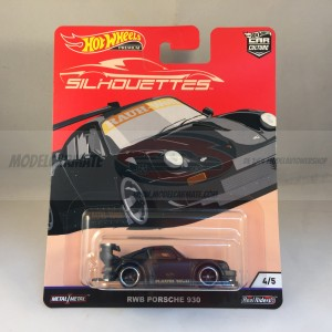 Hot Wheels Car Culture Silhouettes RWB Porsche 930
