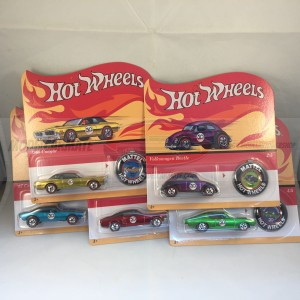 Hot Wheels Classic 50th Anniversary Complete set