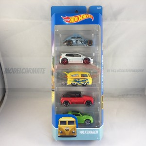 Hot Wheels Volkswagen 5 Pack
