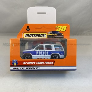 Matchbox '97 Chevy Tahoe Police #30