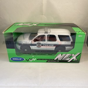Welly 1:24 2008 Chevrolet Tahoe Police
