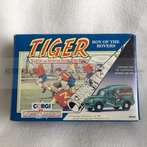 "Corgi Comic Classics Morris 1000 Van Tiger Comics ""Roy Of The Rovers"""