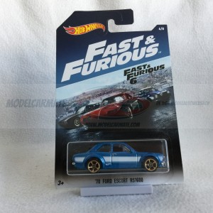Hot Wheels Fast & Furious Serie '70 Ford Escort RS1600