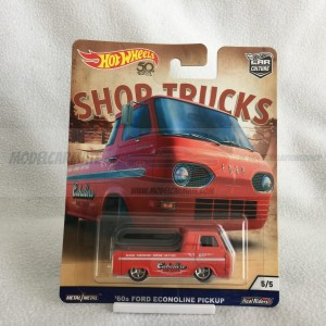 Hot Wheels Car Culture Shop  Trucks '60 Ford Econoline Pickup