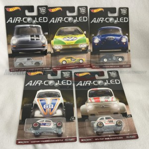 Hot Wheels Car Culture series Air Cooled Complete Set