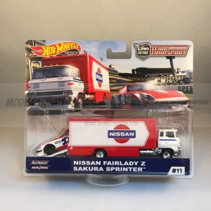 Hot Wheels Team Transport Nissan Fairlady Z Sakura Sprinter