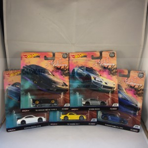 Hot Wheels Car Culture Street Tuners Complete Set