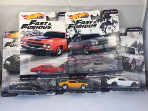 Hot Wheels Fast & Furious Serie Complete Set