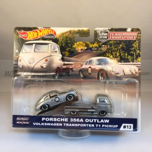 Hot Wheels Team Transport Porsche 356A Outlaw Volkswagen Transporter T1 Pickup