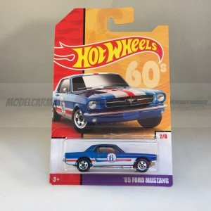 Hot Wheels Throwback Serie '65 Ford Mustang