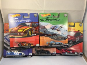 Hot Wheels Car Culture Silhouettes Complete Set